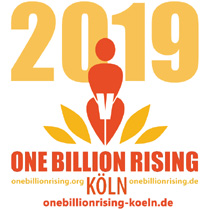 ONE BILLION RISING Köln 2019, Donnerstag, 14. Februar: Tanzen gegen Gewalt an Frauen und Mädchen!